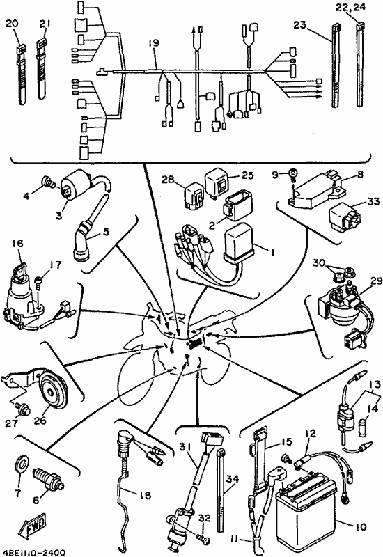 Yamaha Razz Ignition Wiring Diagram