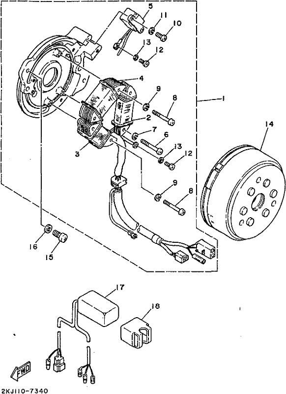 Xt350 1996