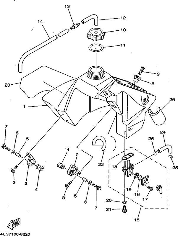 Yz80 2001