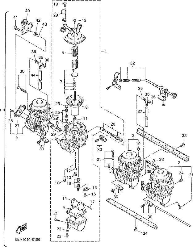 Xjr1300 2001