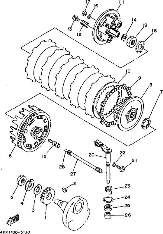 Tt250r Ttr250 1995