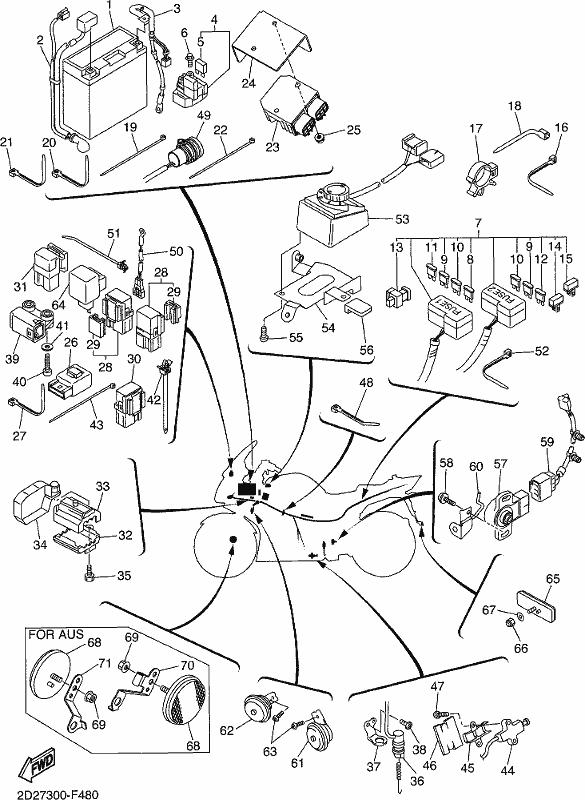 Wiring Diagram For 2007 V Star 1300