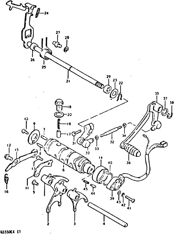 1980 Suzuki Gs550l Wiring Diagram