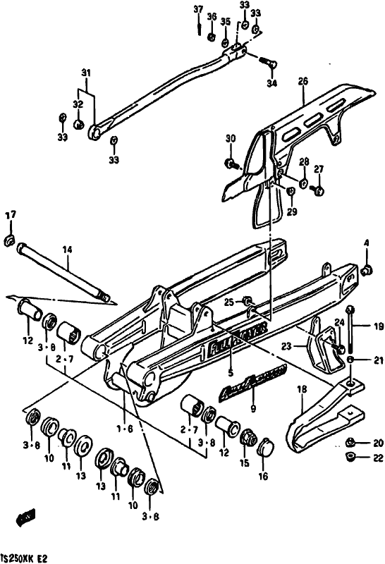 Ts250x 1987