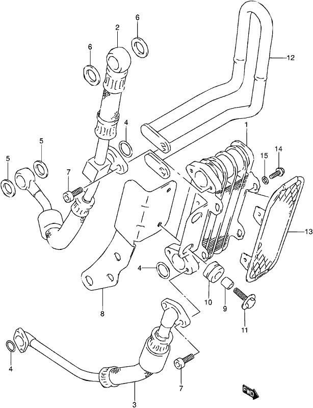 Suzuki Gs550 E 19771979 Usa Cam Chain Schematic Partsfiche