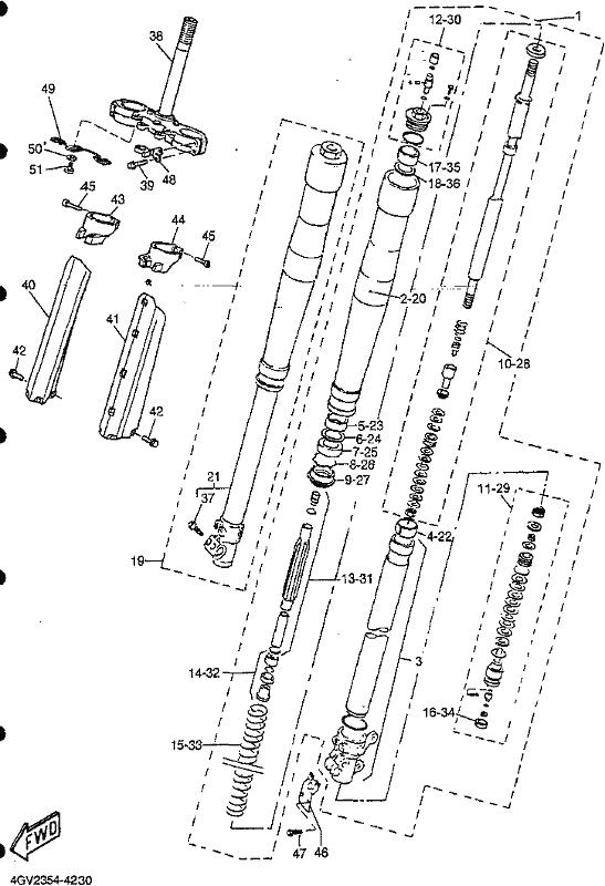 Yamaha Tt600 Wiring Diagram